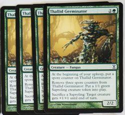MtG : 4x Thallid Germinator ! Time Spiral ! engl. NM