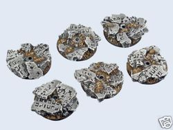 gestaltete Bases : Ruins Bases , Flying 30mm (3)