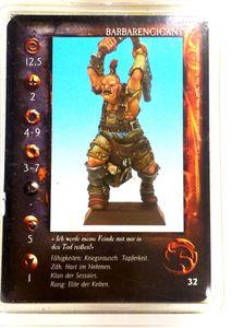 Confrontation : Barbarengigant 5 - Rackham Zinnfigur – Bild 1