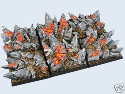 gestaltete Bases : Chaos Bases , 40x40mm (2)