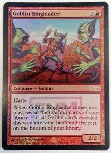 1x Goblin Ringleader FNM FOIL ! engl.NM Magic the Gathering TOP GOBLIN