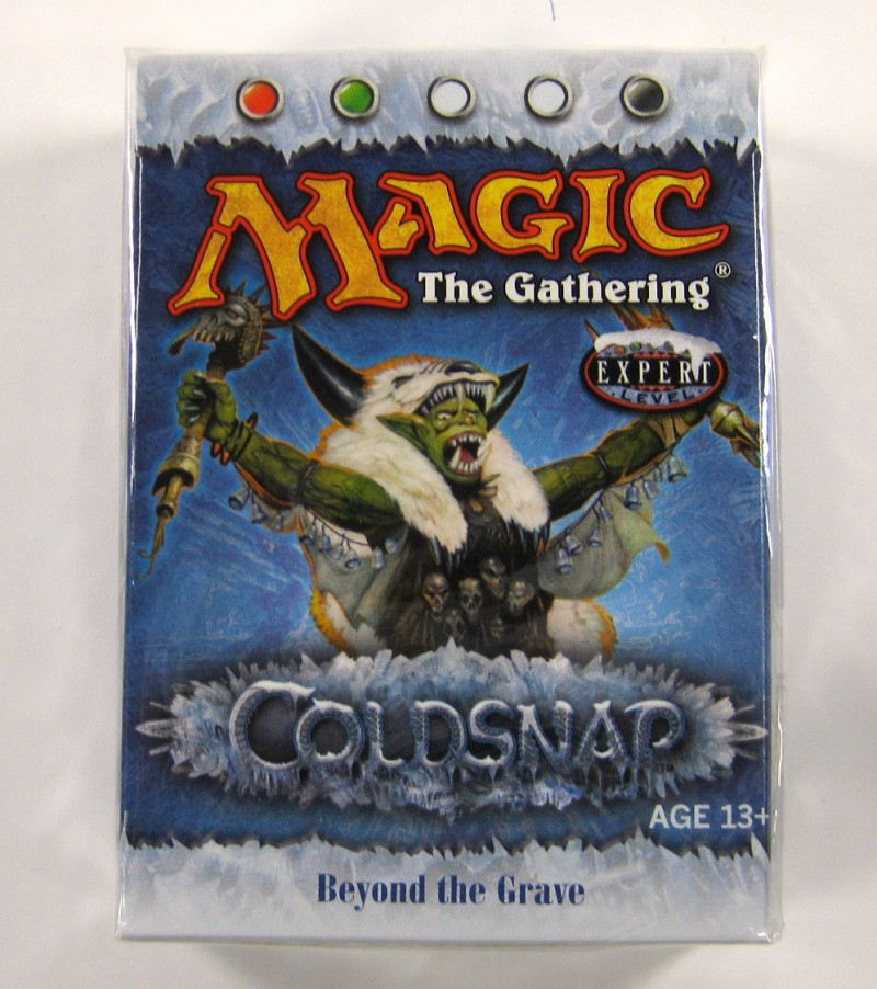 Coldsnap-Theme-Deck-INGLESE-MAGIC-THE-GATHERING-MTG-themedeck-TCG-MTG-deck