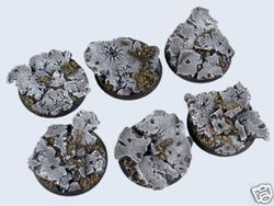 gestaltete Bases : Ruins Bases , Round 40mm ( 2)