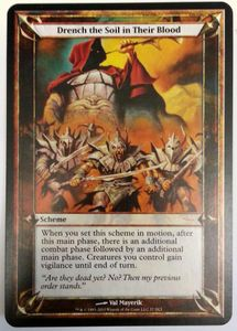 1x Drench the Soil in Their Blood GATEWAY PROMO engl.NM Magic MtG