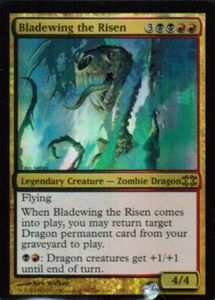 1x Bladewing the Risen From the Vault FOIL ! engl. NM