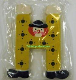 "Sevi Holzbuchstabe "" H "" Clown"