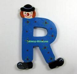 "Sevi Holzbuchstabe "" R "" Clown"