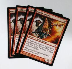 4x Goblin Arsonist ! Rise of the Eldrazi ! engl. NM