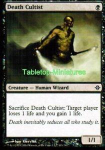 4x Death Cultist ! Rise of the Eldrazi ! engl. NM