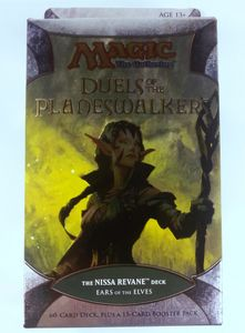 Magic The Gathering Duels of the Planeswalker Intro Decks Ears of the Elves