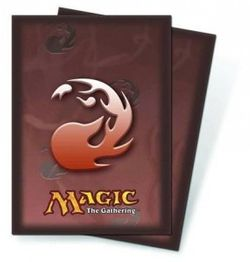 Ultra Pro Magic the Gathering Protector Red Mana (80) #82453 (89 x 63,5mm)