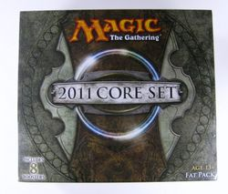 Magic the Gathering:  Core Set 2011 Fat Pack Magic 2011 MtG