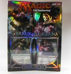 Magic MtG : Duel Decks Garruk vs. Liliana englisch