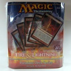 MtG : Premium Deck Series Fire & Lightning (englisch)