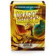 100 Dragon Shield Card Sleeves / Hüllen (Goldfarben) 001