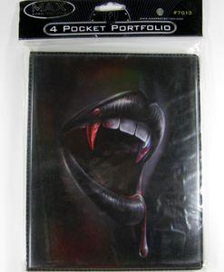 Max Protection 4-Pocket Portfolio : Thirsty Vampire