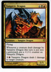 1x Vampiric Dragon ! Archenemy ! engl. NM MtG Magic
