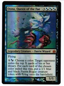 1x Oona, Queen of the Fae FOIL FtV Legends engl. NM