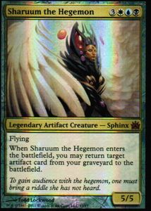 1x Sharuum the Hegemon ! FtV Legends FOIL ! engl. NM MtG