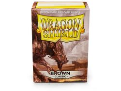 100 Dragon Shield Card Sleeves / Hüllen ( Brown / Braun )