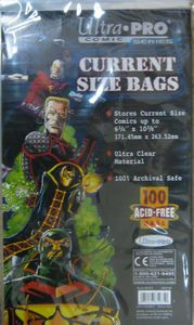 Ultra Pro Comic Bags Current Size (100 Stück)