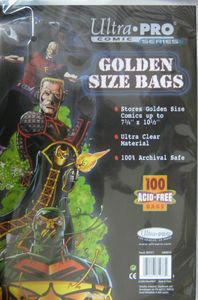 Ultra Pro Golden Size Comic Bags (100 Stück)