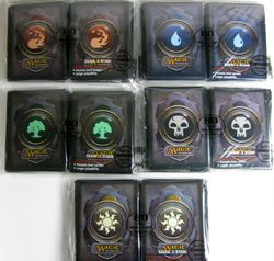 Magic the Gathering Sleeves Mana 3 (80) - Farbe wählen -  – Bild 1