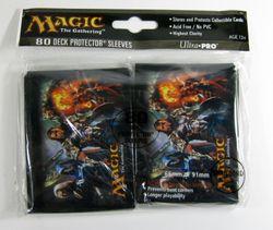 80 Ultra Pro Sleeves - Magic 2012 Planeswalker MtG