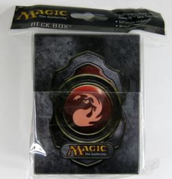 Red Mana 3 Magic MtG Deck Box Ultra Pro Deckbox
