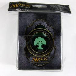 Green Mana 3 Magic MtG Deck Box Ultra Pro