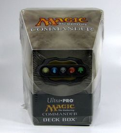 Ultra Pro Commander Deck Box - Artefakt -