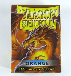 100 Dragon Shield Card Sleeves / Hüllen (Orange)