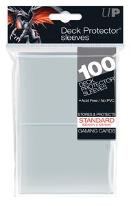 Ultra Pro Deck Protector Sleeves Clear (100) (66x91mm)