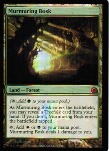 1x Murmuring Bosk ! From the Vaults Realms FOIL ! engl. NM