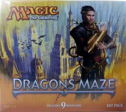 Dragon's Maze Fat Pack engl. MtG Magic the Gathering