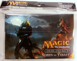 MtG Magic the Gathering : Duel Deck Box Sorin vs. Tibalt Deckbox