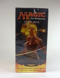 Magic 2014 Core Set Event Deck Rush of the wild (engl.) Magic the Gathering MtG