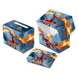 Magic 2014 Side Loading Deckbox Deck Box MtG Flames of Chandra – Bild 1
