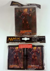 Magic 2014 - 80 Ultra Pro Sleeves + Deckbox Set - Orb of Chandra