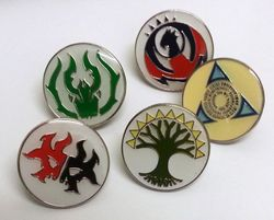 Magic the Gathering - Return to Ravnica Gilden Pin Set - Anstecknadeln