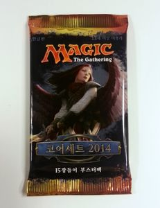 Magic: The Gathering - Magic 2014 M2014 Booster Koreanisch