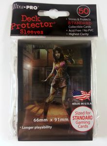 50 Ultra Pro Deck Protector Sleeves - Dead Wake 1 Courtney