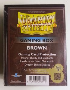 Dragon Shield Gaming Box - Brown - Arcane Tinmen