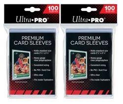 Ultra Pro - 200 Platinum Premium Soft Sleeves