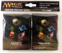 80 Ultra Pro Gallery Sleeves - MANA 4 Magic - Manasymbole