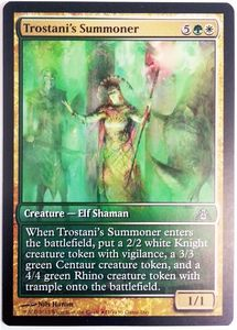 1x Trostani's Summoner Game Day Promo engl. NM