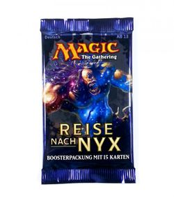 Reise nach Nyx Booster deutsch MtG Magic the Gathering