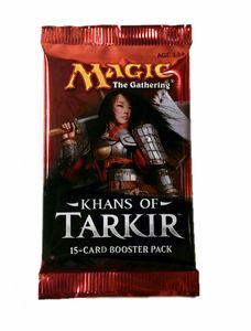 Khans of Tarkir Booster englisch MtG Magic the Gathering