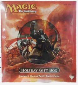 Holiday Gift Box 2014 MtG Magic the Gathering Khans of Tarkir – Bild 1