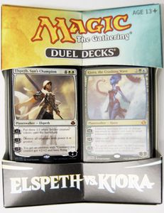 Elspeth vs. Kiora Magic the Gathering Duel Decks englisch MtG – Bild 1